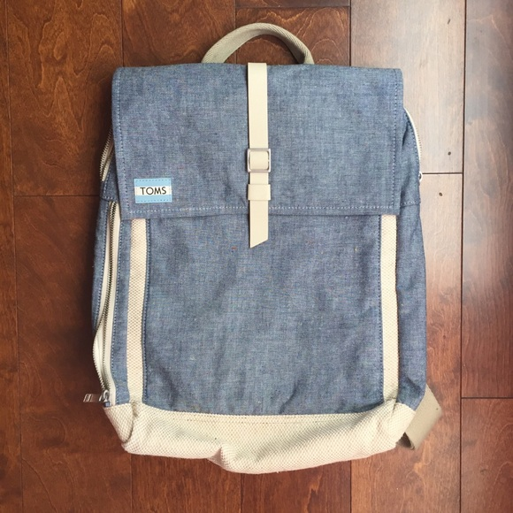 aecf28a542 Toms Bags | Utility Canvas Trekker Backpack | Poshmark